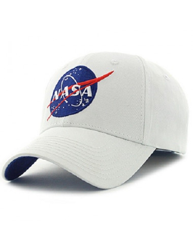 Casquette NASA blanche