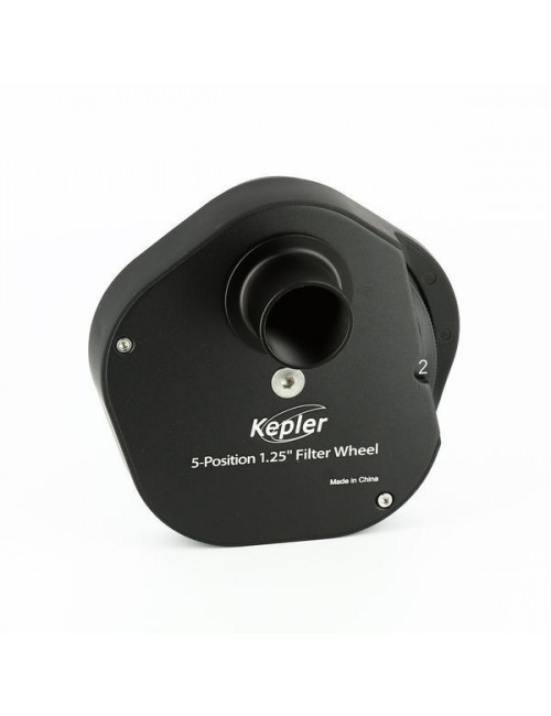Roue à filtres Kepler 5 positions 5x31,75mm
