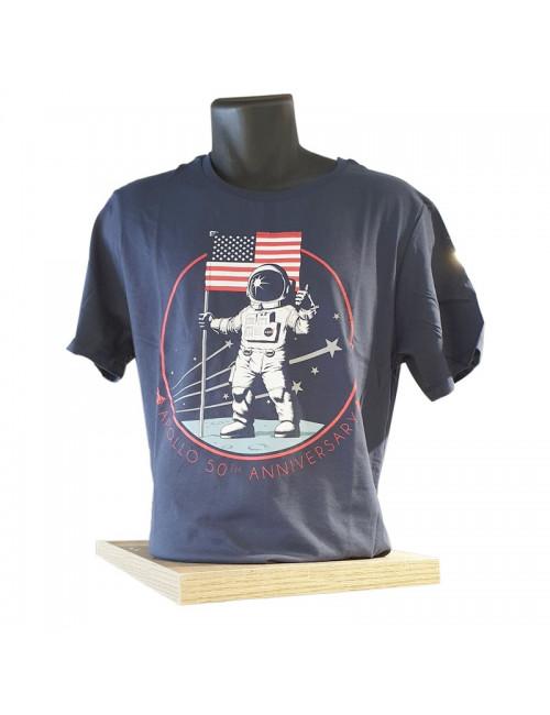 Tee-Shirt Apollo 50 ème Anniversaire - TAILLE XL