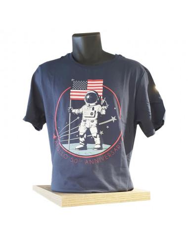 Tee-Shirt Apollo 50 ème Anniversaire - TAILLE S