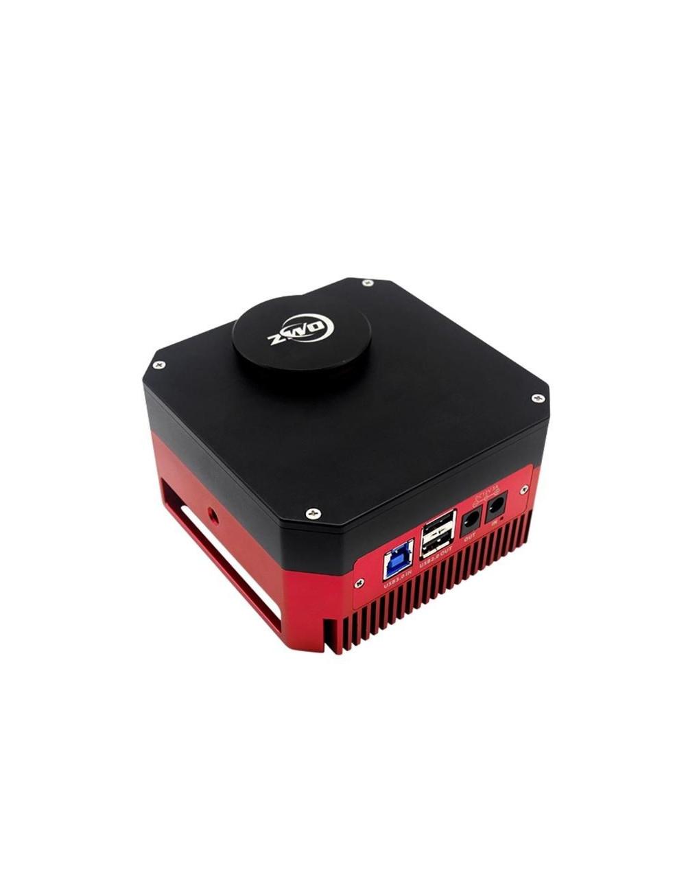 Camera monochrome ZWO ASI1600GT avec roue à filtres intégrée