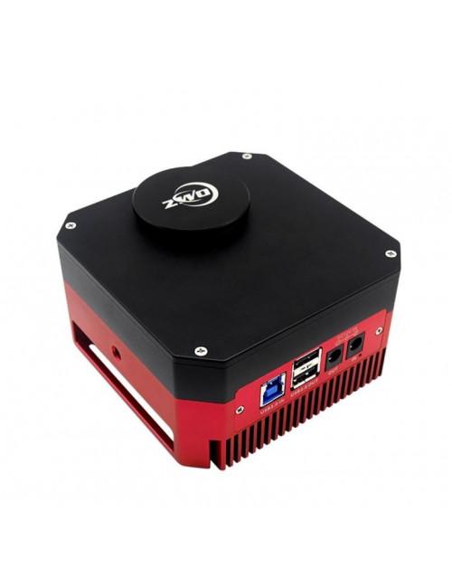 Camera refroidie monochrome ZWO ASI1600GT avec roue à filtres intégrée