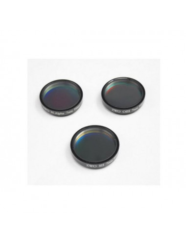 Set de 3 filtres SHO 7 nm 50,8 mm ZWO