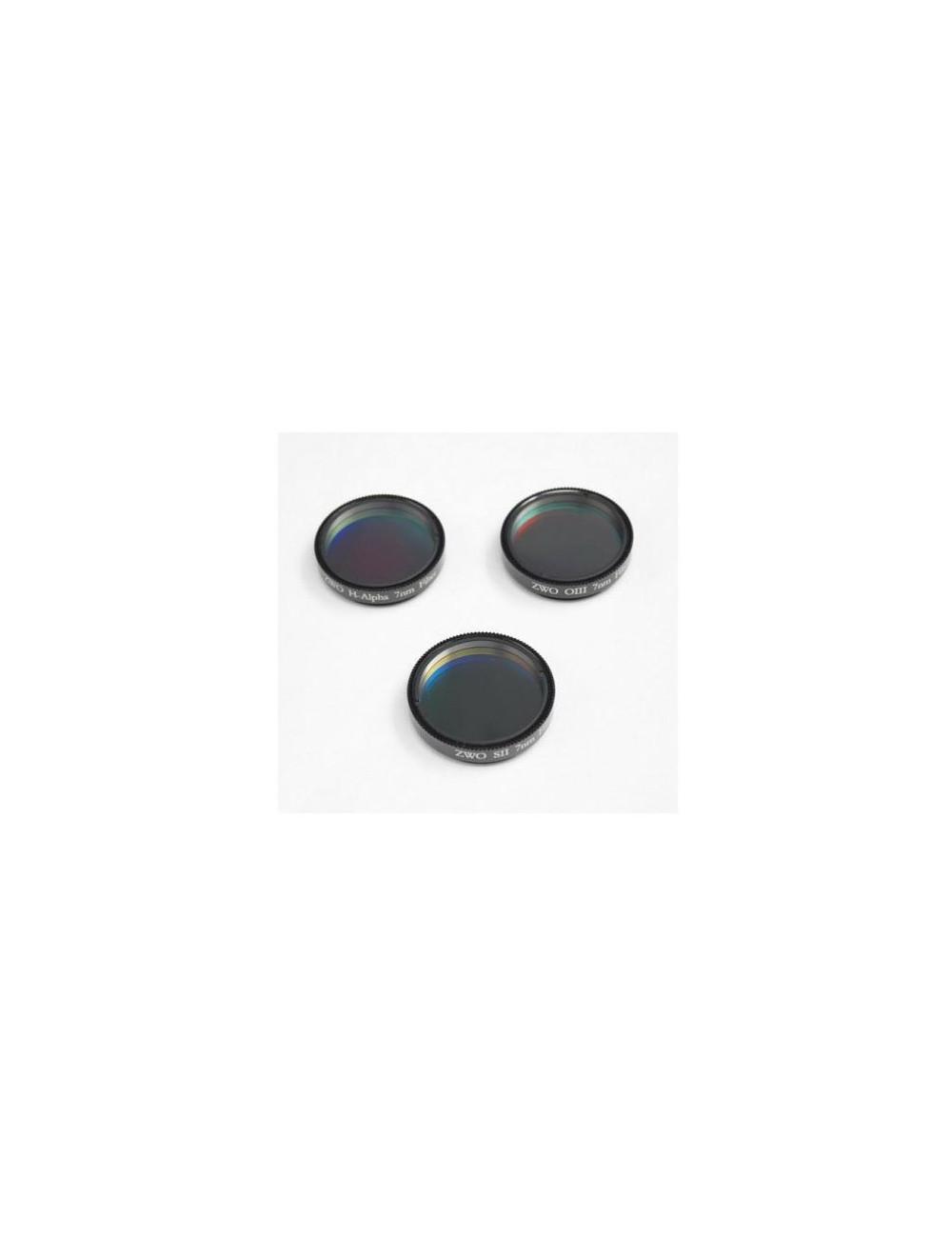 Set de 3 filtres SHO 7 nm 50,8 mm ZWO