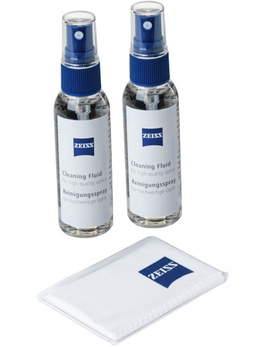 Spray de nettoyage (x2) + microfibre ZEISS