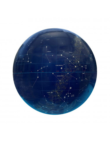GLOBE gonflable 40 cm ETOILES