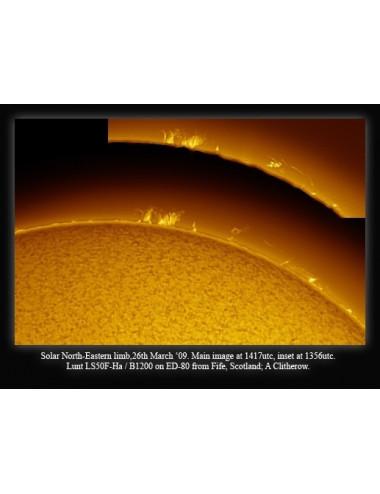 Filtre solaire H-alpha LUNT LS50FHa/B1200d2