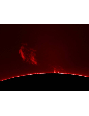 Filtre solaire H-alpha LUNT LS100FHa/B600d1