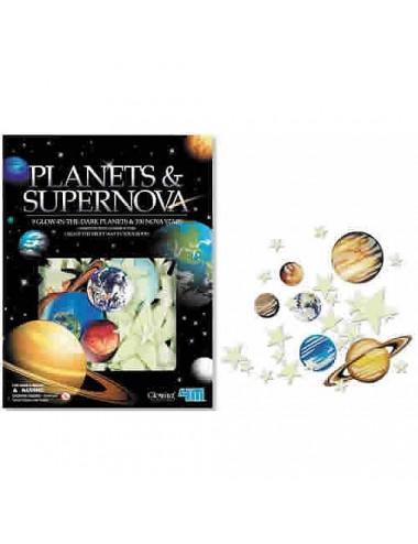 Planètes et supernova (109 pièces)