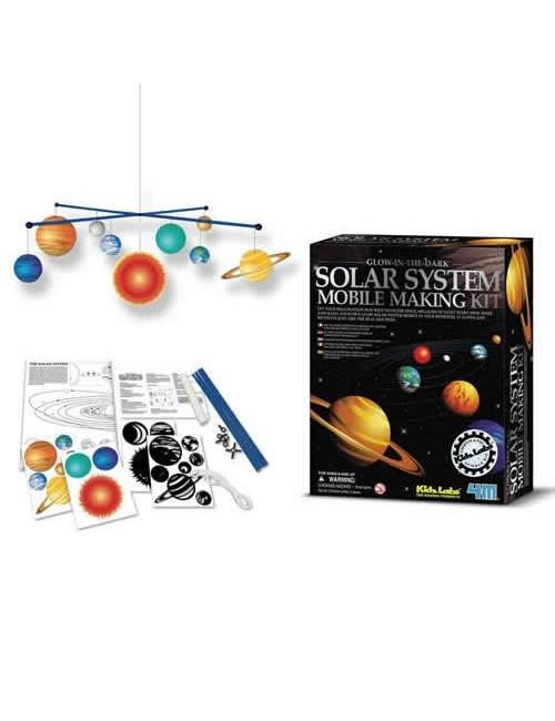 Mobile du système solaire
