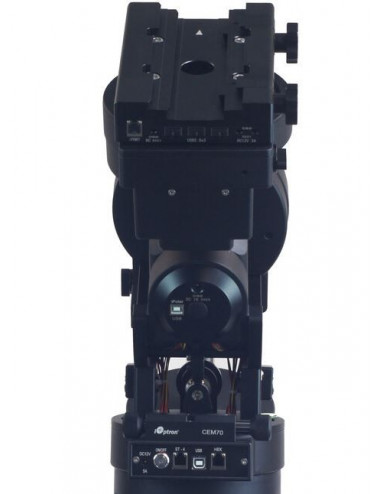 Monture iOptron CEM70 seule + valise de transport