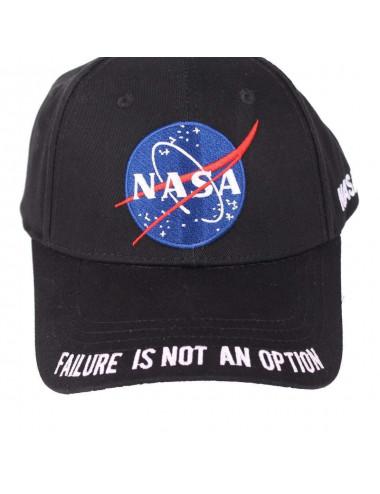 Casquette NASA noir