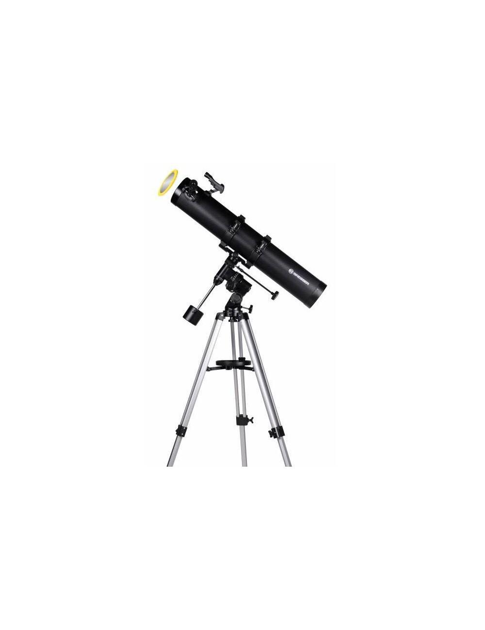 Télescope Newton équatorial Bresser Galaxia 114/900 Carbon Design