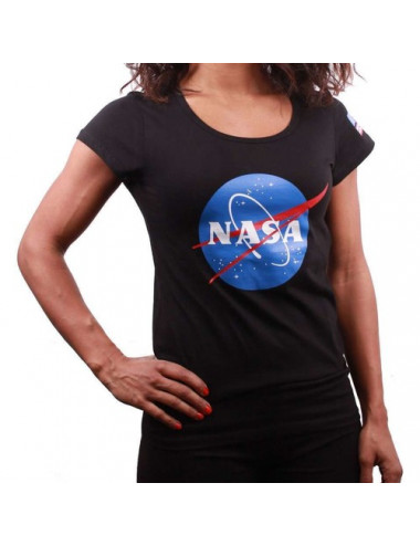 T-Shirt NASA F  - Logo noir...