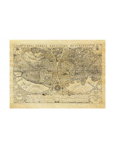 Carte du Monde 1602