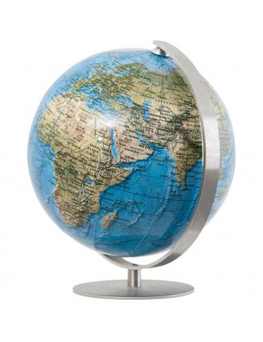 Mini globe Bleu 12 Cm