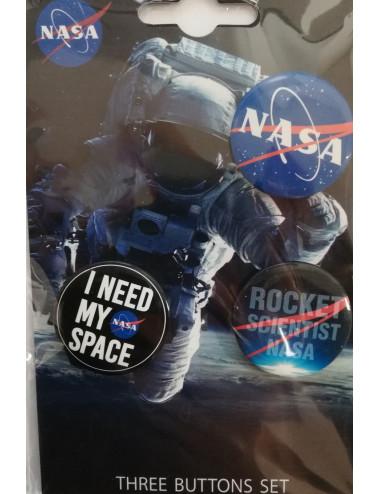 3 broches NASA