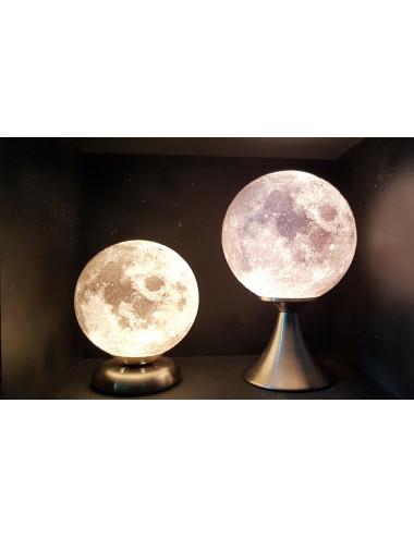 Lune 3D Lampe sur pied bas...