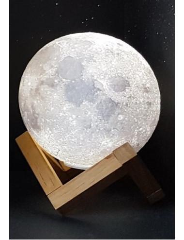 Lune 3D Veilleuse 12cm...