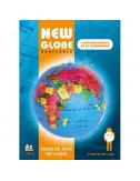 Globe terrestre gonflable - 30 cm