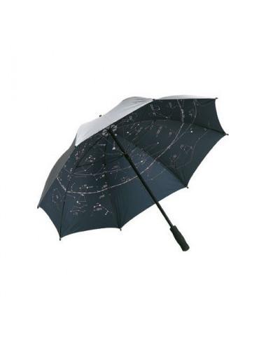 Parapluie astronomique argenté