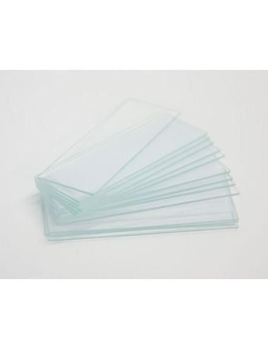 Lames porte objet en verre 76x26x1,1 mm