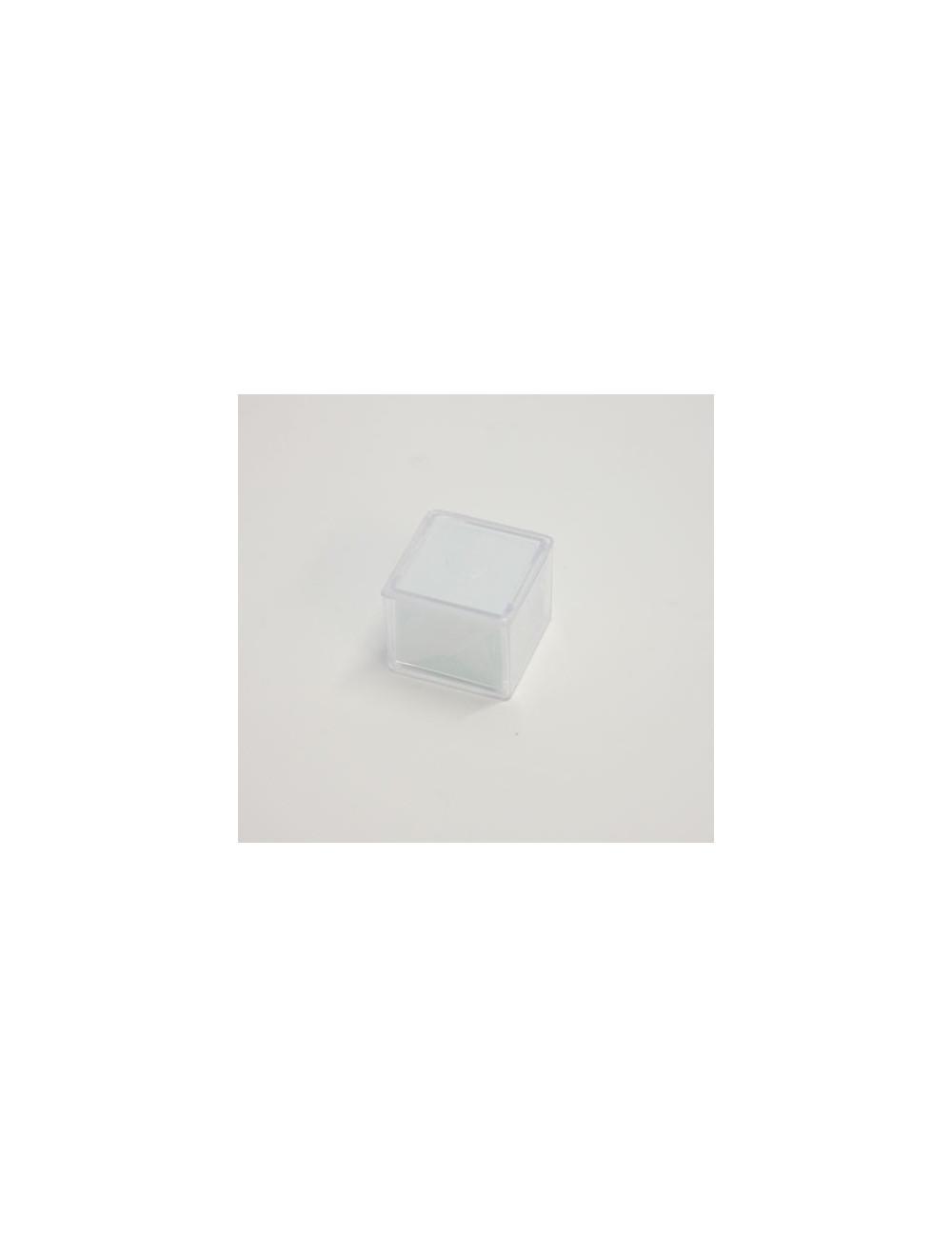 Lamelles en verre couvre objet 20x20 mm