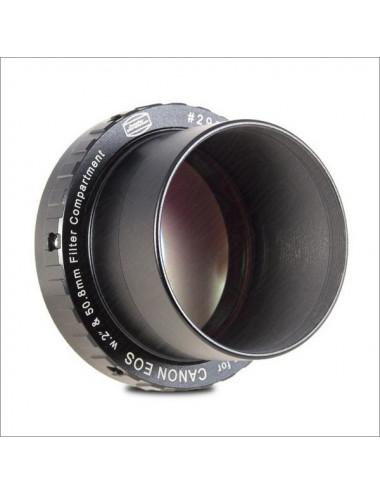 Bague T 48mm Canon EOS avec filtre antipollution