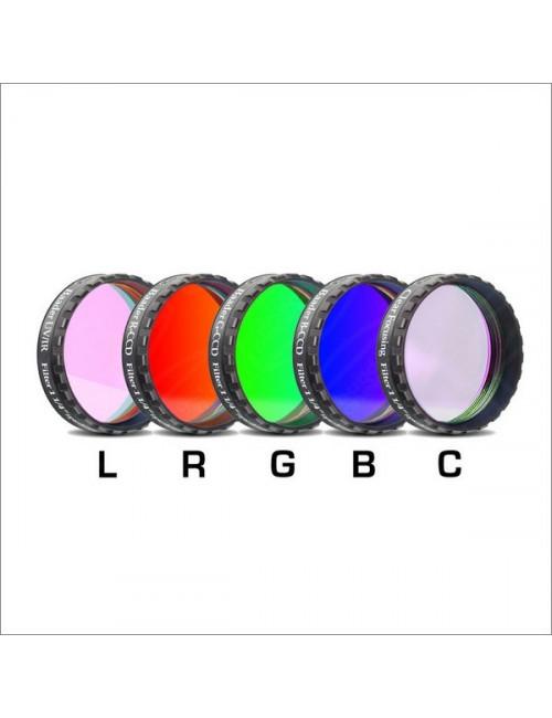 Filtres CCD L-RGB+ IR CUT + clair 31.75mm