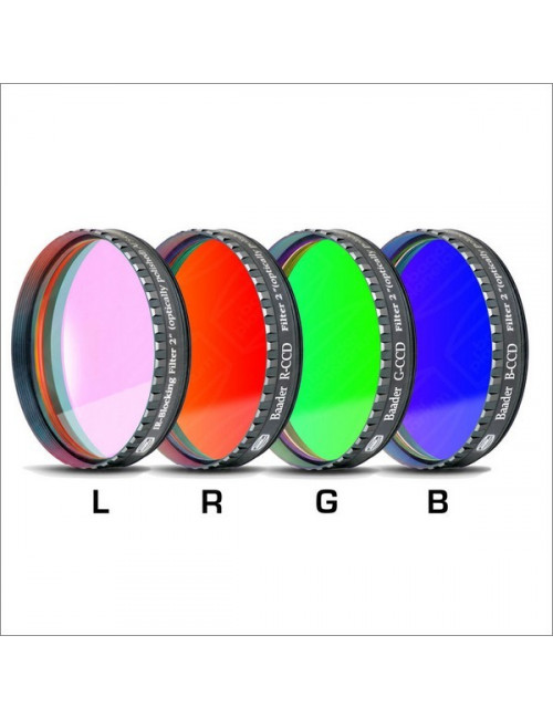 Filtres CCD L-RGB+ UV/IR CUT 31.75mm  Baader