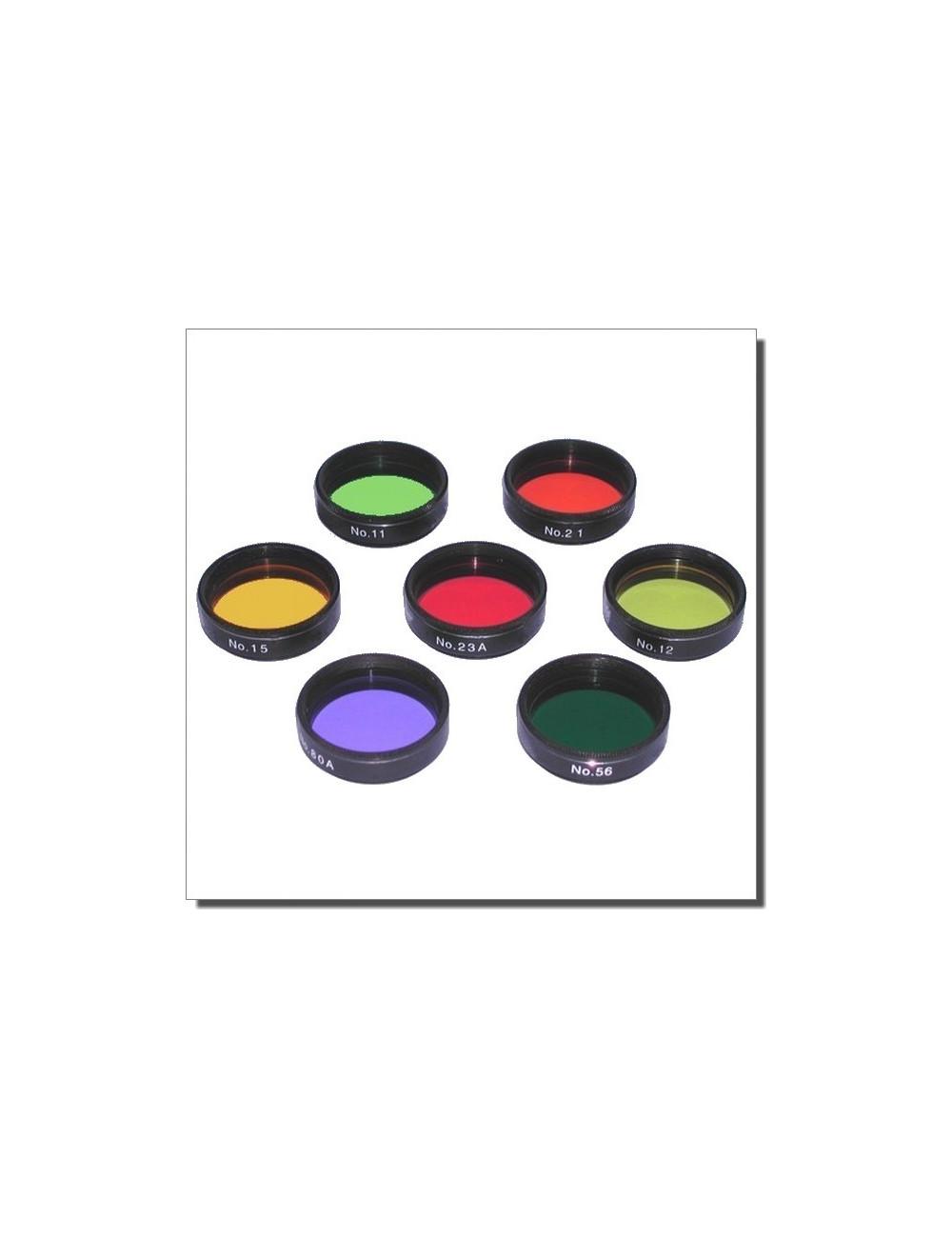 Filtres colorés planétaires 31.75mm