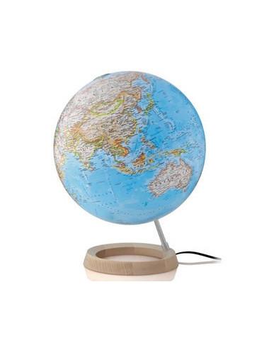 Globe terrestre lumineux néon classique 30 Cm
