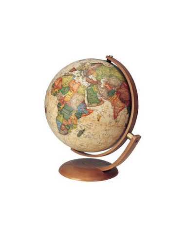 Globe terrestre lumineux Optimus antique pivotant 37 Cm