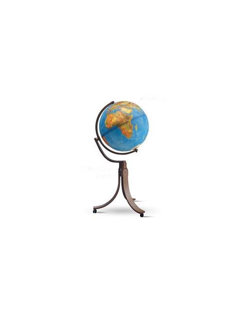 Globe terrestre lumineux Emily Bleu 50CM PIVOTANT