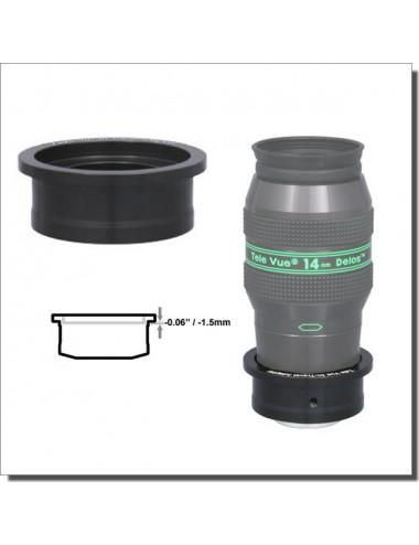Réducteur 50.8/31.75mm court pour Délos