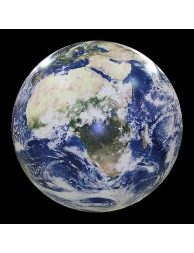 Globe gonflable géographique 40 Cm