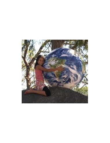 Globe gonflable géographique 1 Mètre