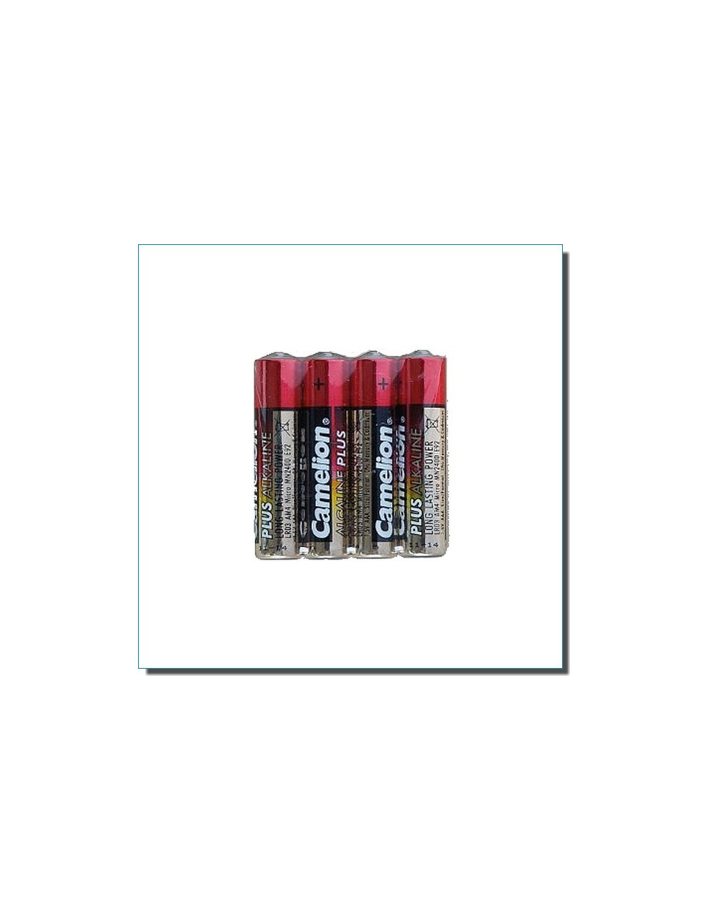 Piles alcalines LR06 AA (lot de 4)