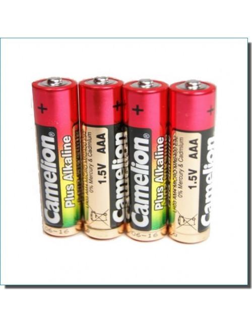 Piles alcalines LR03 AAA (lot de 4)