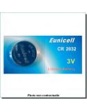 Pile bouton Lithium CR2032 3V