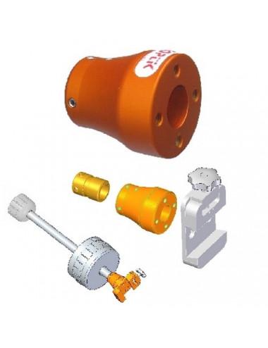 Adaptateur barre de contrepoids 25mm