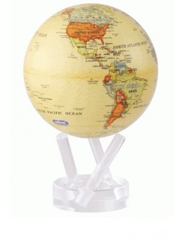 Globe autorotatif antique