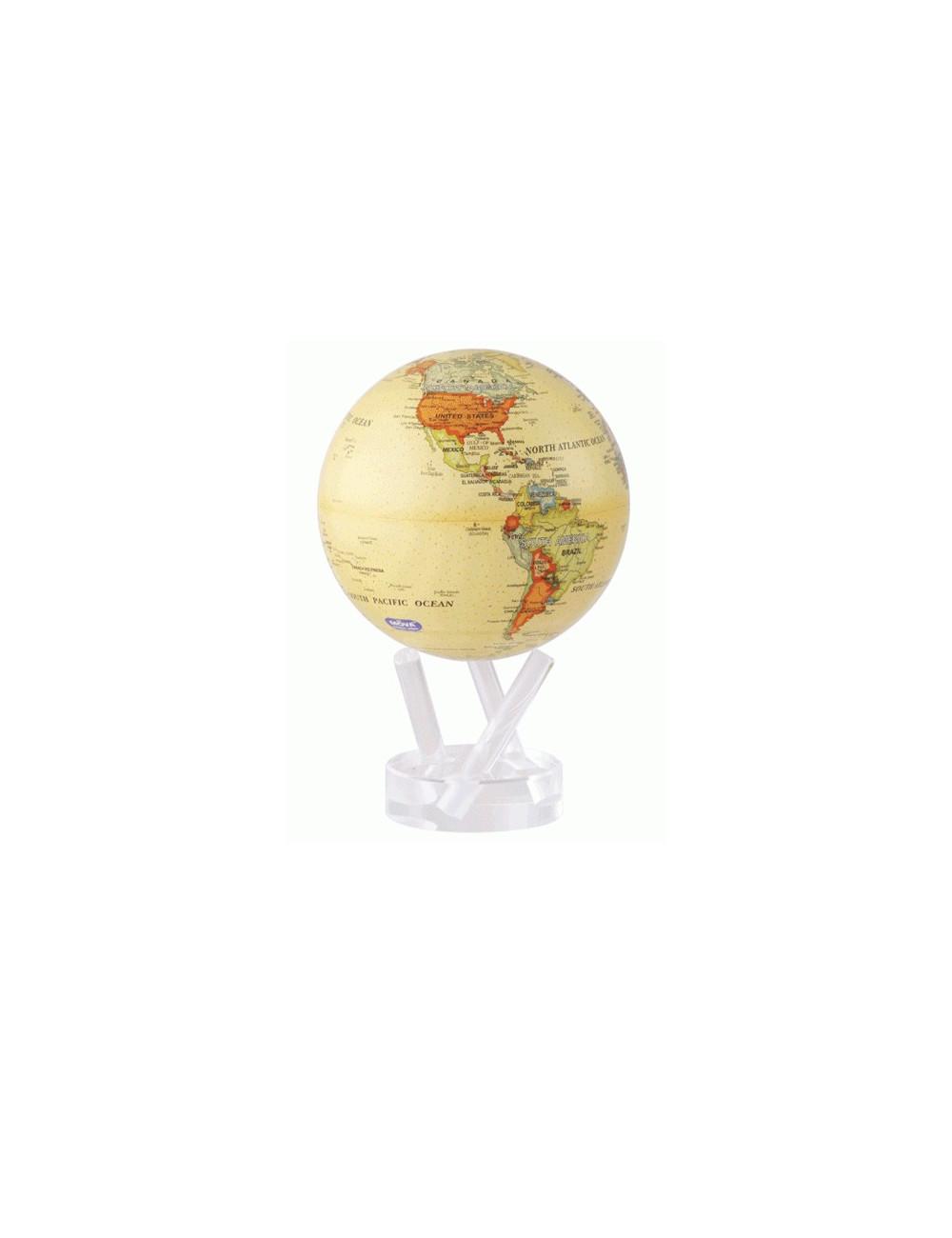 Globe autorotatif antique
