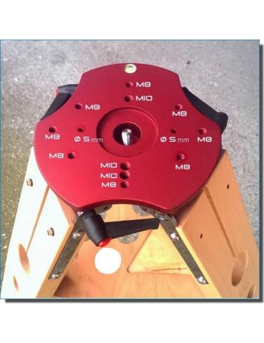 Trépied en bois Hercule 950/1100 mm