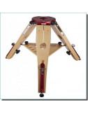 Trépied en bois Hercule 470/520 mm