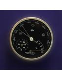 Baro / thermo / hygromètre design PORSCHE en alu brossé