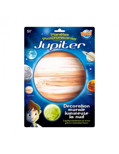 Jupiter phosphorescente