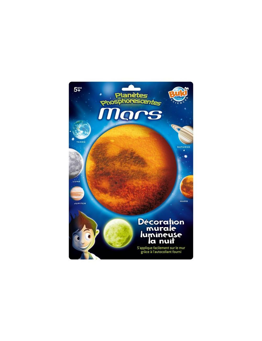 Mars phosphorescente