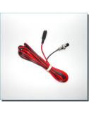 Câble 12 Volts/Jack 5.5-2.5 pour monture AZEQ6