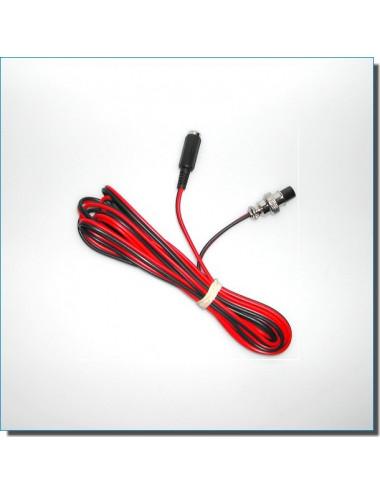 Câble 12 Volts/Jack 5.5-2.1 pour monture AZEQ5/AZEQ6/EQ6-R